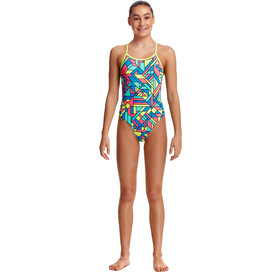 Funkita Twisted Swimsuit Girls, Multicolor